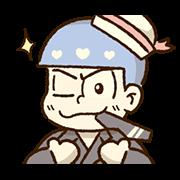 สติ๊กเกอร์ไลน์ Mr.Osomatsu × ซานริโอ ดุ๊กดิ๊กได้♪