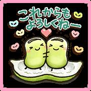 สติ๊กเกอร์ไลน์ Sweet Healing Sakura Lot Stickers