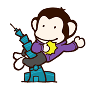 สติ๊กเกอร์ไลน์ Banana Monkey: Best Moves