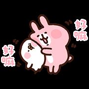 สติ๊กเกอร์ไลน์ Kanahei's Piske & Usagi Come to Life! 2
