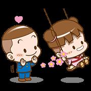 สติ๊กเกอร์ไลน์ Cocoa – Cute Animated Sound Stickers 2