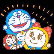 สติ๊กเกอร์ไลน์ Doraemon & Dorami: Animated Stickers