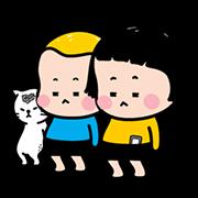สติ๊กเกอร์ไลน์ Mobile Girl, MiM Animated Stickers