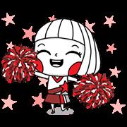 สติ๊กเกอร์ไลน์ Ms. Big: Bickering Animated Stickers
