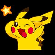 สติ๊กเกอร์ไลน์ Pikachu สติกเกอร์ช่างจ้อ