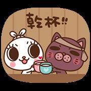 สติ๊กเกอร์ไลน์ Labito – Cutie Pie Baby Version