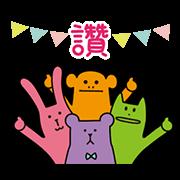 สติ๊กเกอร์ไลน์ CRAFT: Heal Your Heart! (Taiwan)