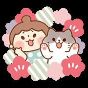 สติ๊กเกอร์ไลน์ JaeJae & Uchu