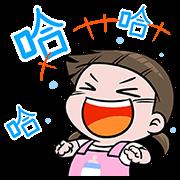 สติ๊กเกอร์ไลน์ NomYen & HuaKrien Pop-Up Stickers 2