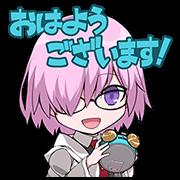 สติ๊กเกอร์ไลน์ Fate/Grand Order 2