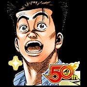 สติ๊กเกอร์ไลน์ ROOKIES(J50th)