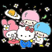 สติ๊กเกอร์ไลน์ Sanrio Characters × Weiwei