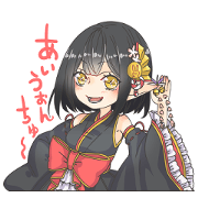 สติ๊กเกอร์ไลน์ 9on Mikuriya Sticker