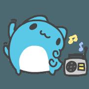 สติ๊กเกอร์ไลน์ BugCat-Capoo Cute and useful