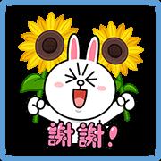 สติ๊กเกอร์ไลน์ LINE Characters' Summer Stickers