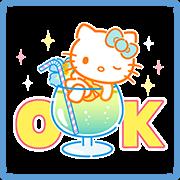 สติ๊กเกอร์ไลน์ Hello Kitty's Summer Stickers
