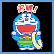 สติ๊กเกอร์ไลน์ Doraemon's Summer Stickers