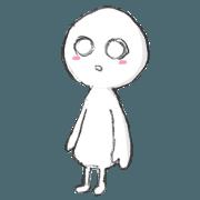 """สติ๊กเกอร์ไลน์ """"Mashiro-chan"""""""