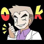 สติ๊กเกอร์ไลน์ Pokémon: The Oaks