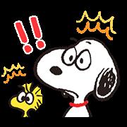 สติ๊กเกอร์ไลน์ Animated SNOOPY★FUNNY FACES