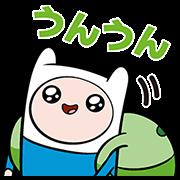 สติ๊กเกอร์ไลน์ Adventure Time Sticker Standards