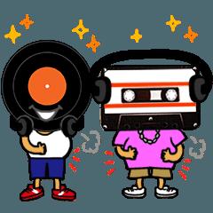 DJのレッコとカッセの日常