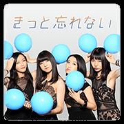 สติ๊กเกอร์ไลน์ TOKYO GIRLS' STYLE มิวสิคสติกเกอร์
