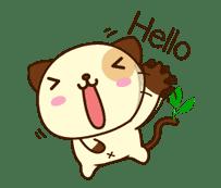 Panda Dog sticker #2573