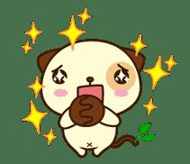 Panda Dog sticker #2575