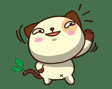 Panda Dog sticker #2576