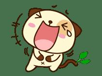 Panda Dog sticker #2577