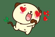 Panda Dog sticker #2578