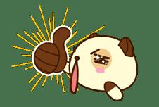 Panda Dog sticker #2579