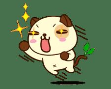 Panda Dog sticker #2586