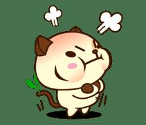 Panda Dog sticker #2587