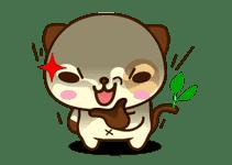 Panda Dog sticker #2588