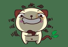 Panda Dog sticker #2591