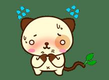 Panda Dog sticker #2593