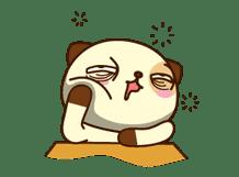 Panda Dog sticker #2594