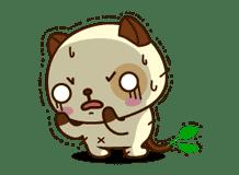 Panda Dog sticker #2597