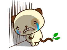 Panda Dog sticker #2602