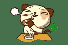 Panda Dog sticker #2611