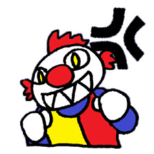 KM1 Killer Clown sticker #5874274