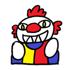 KM1 Killer Clown sticker #5874275