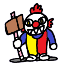 KM1 Killer Clown sticker #5874294