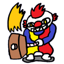 KM1 Killer Clown sticker #5874302