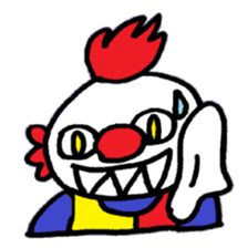 KM1 Killer Clown sticker #5874306