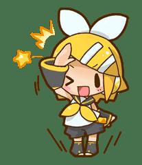 Hatsune Miku: All Together sticker #24347