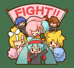 Hatsune Miku: All Together sticker #24353
