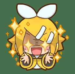 Hatsune Miku: All Together sticker #24359